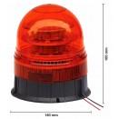 LED švyturėlis su veidrodžiu tvirtinamas prie koto